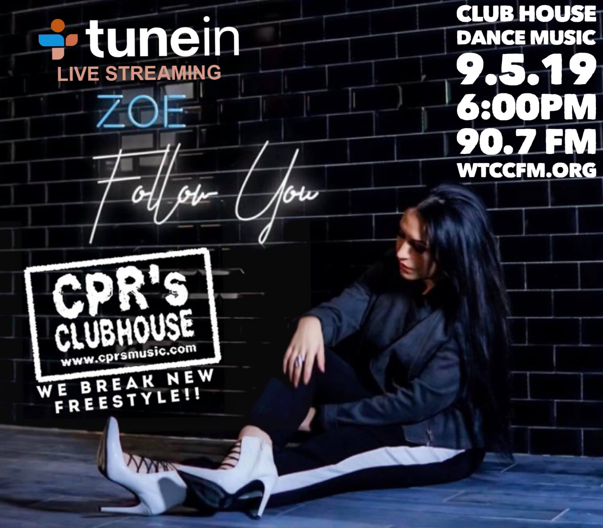 CPR's Clubhouse - The #1 Freestyle Show in All of Freestyle