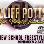 DJ Cliff Potts: The Vinyl Assassin (New School Freestyle Mini Mix V2.3477)